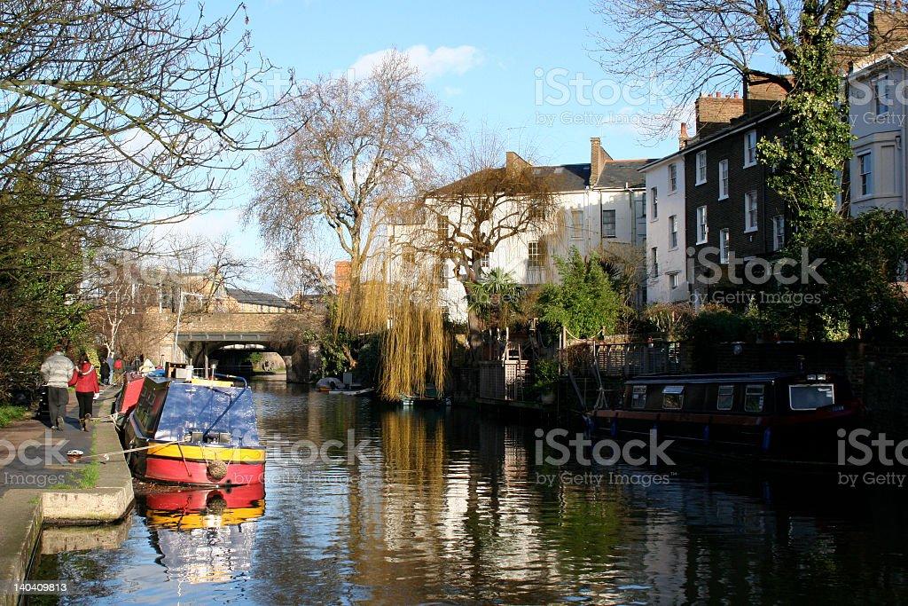 Regent's Canal - London stock photo