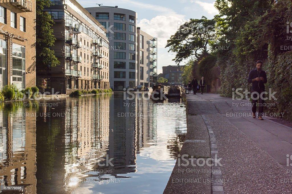 Regent's Canal stock photo
