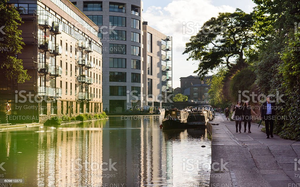 Regent's Canal stock photo