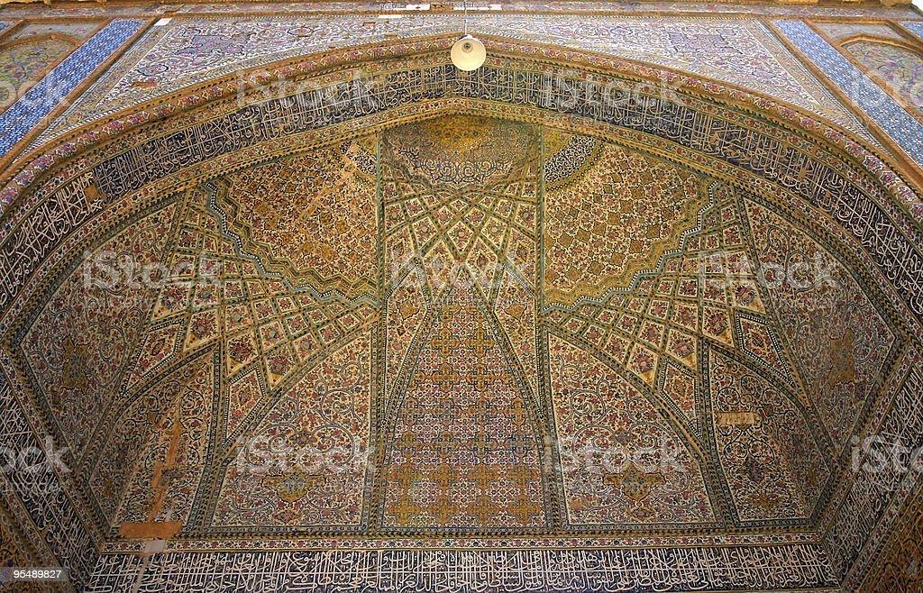 Regent's Mosque, Shiras, Iran royalty-free stock photo