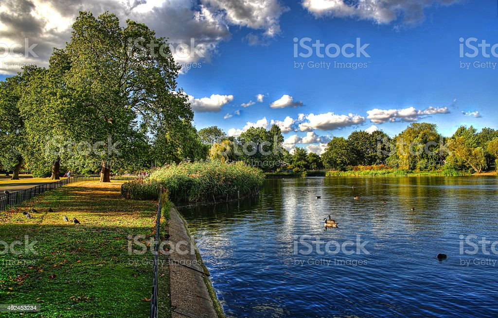 Regent's Park stock photo