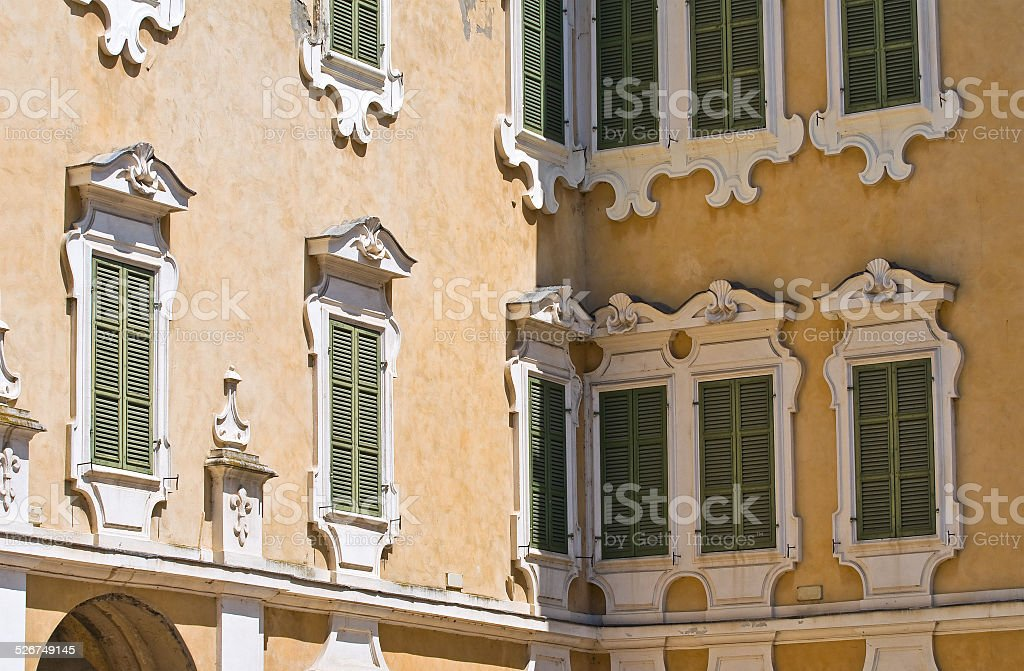 Reggia of Colorno. Emilia-Romagna. Italy. stock photo