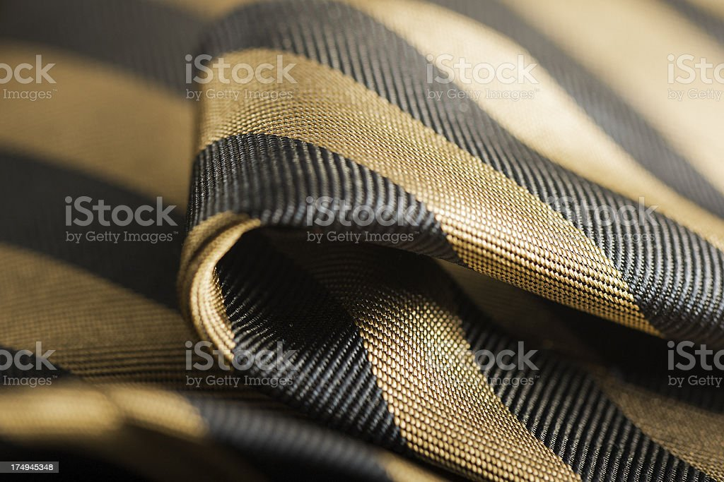 Regimental Tie stock photo
