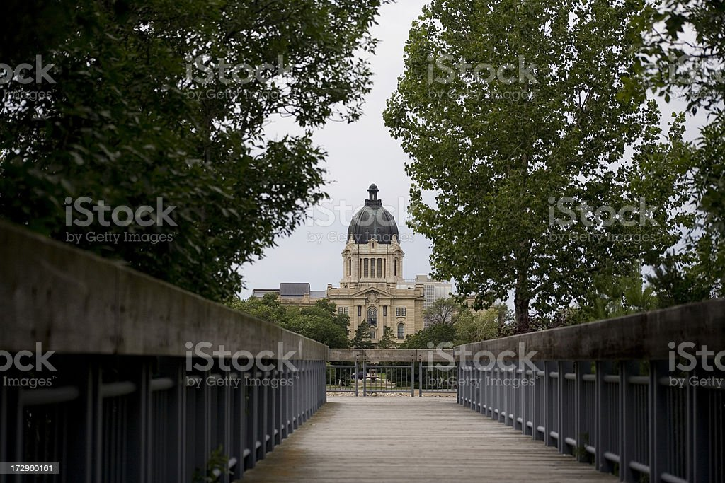 Regina Legislative Building stock photo