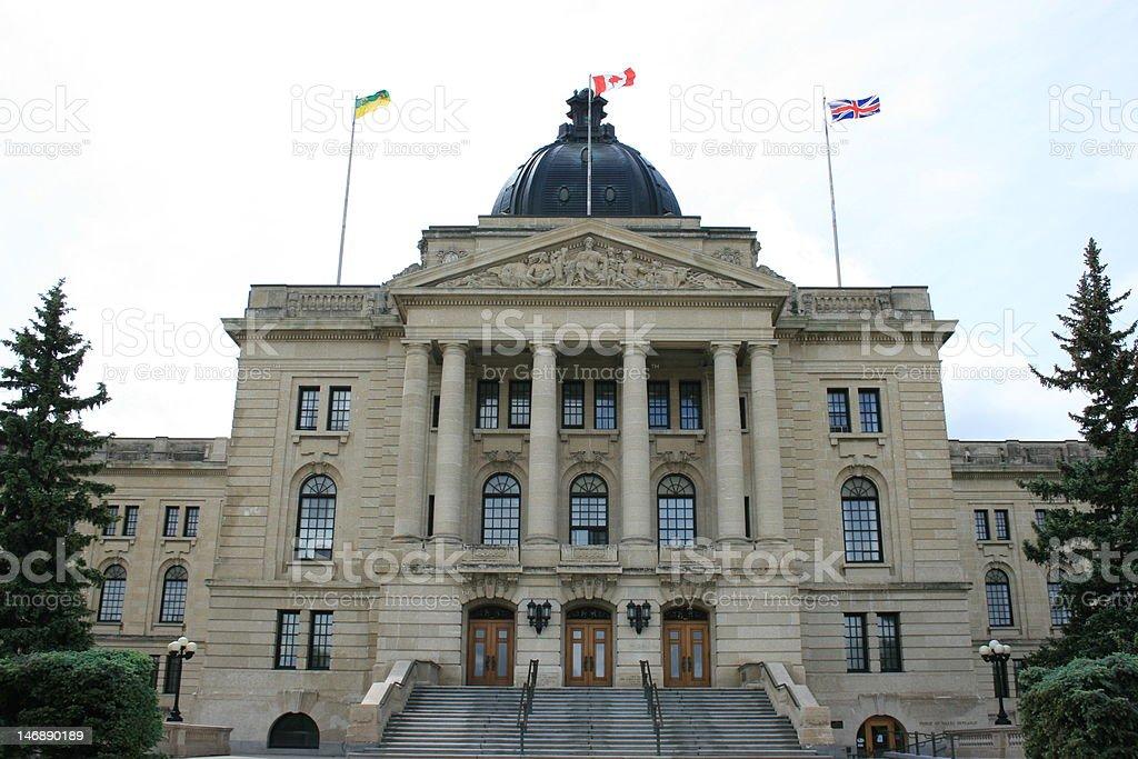 Regina Legislature stock photo