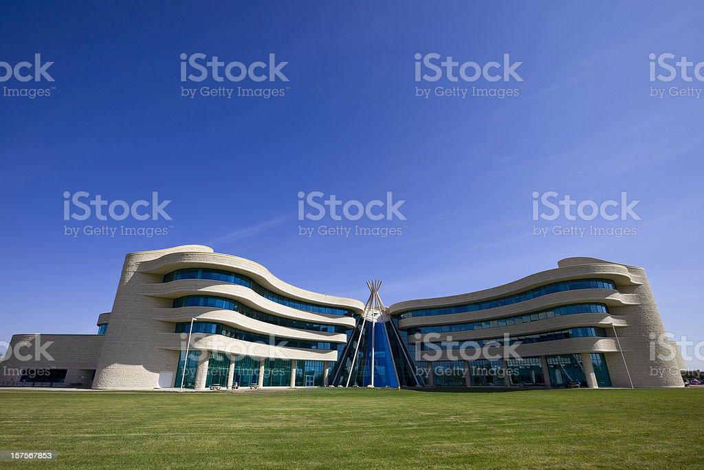 Regina Saskatchewan First Nations University of Canada stock photo