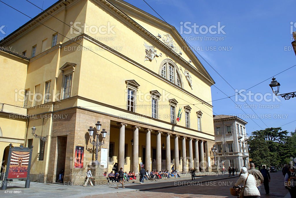 Regio Theater stock photo