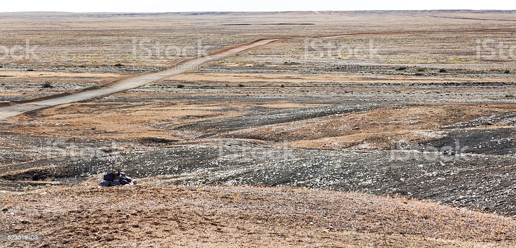 Region of Coober Pedy stock photo