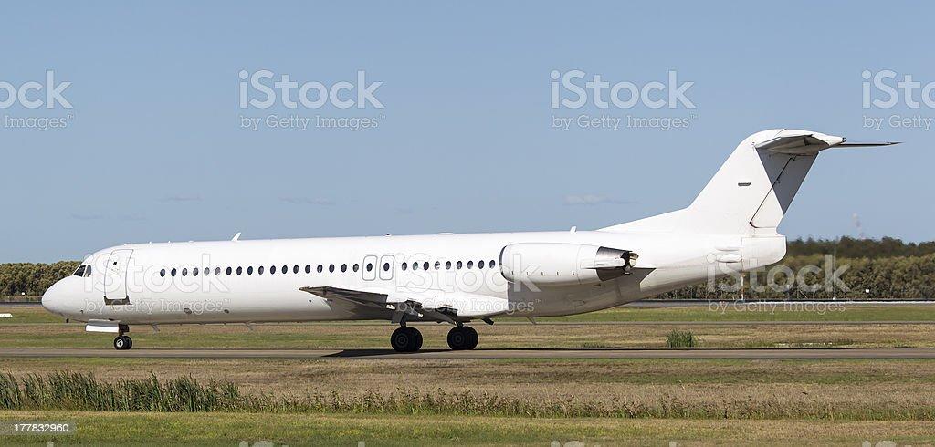 Regional Airliner stock photo