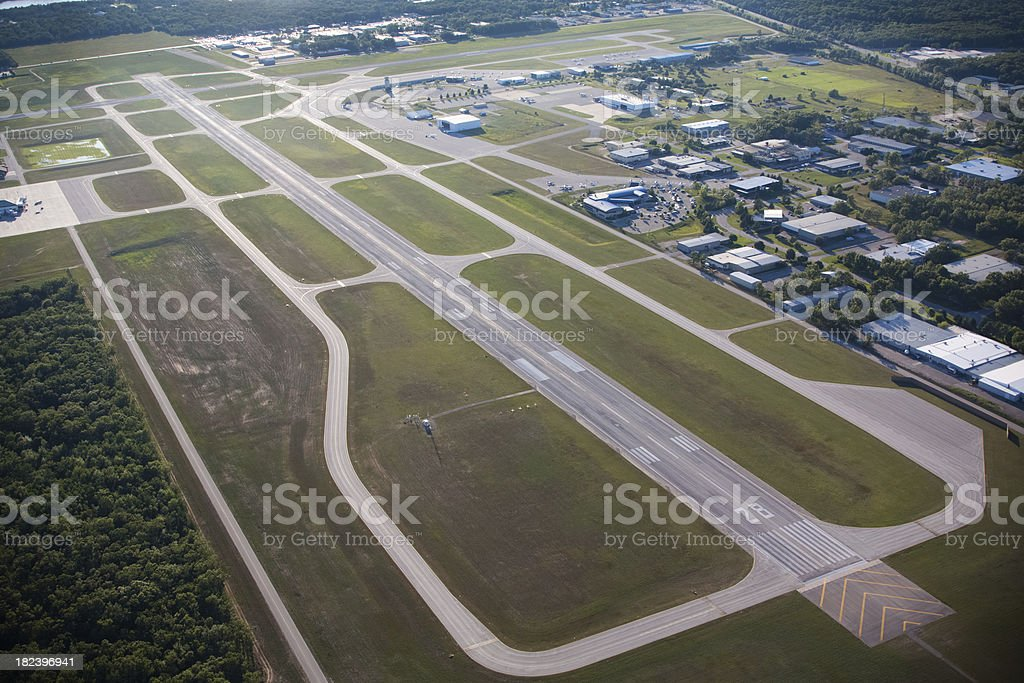 Regional Airport stock photo