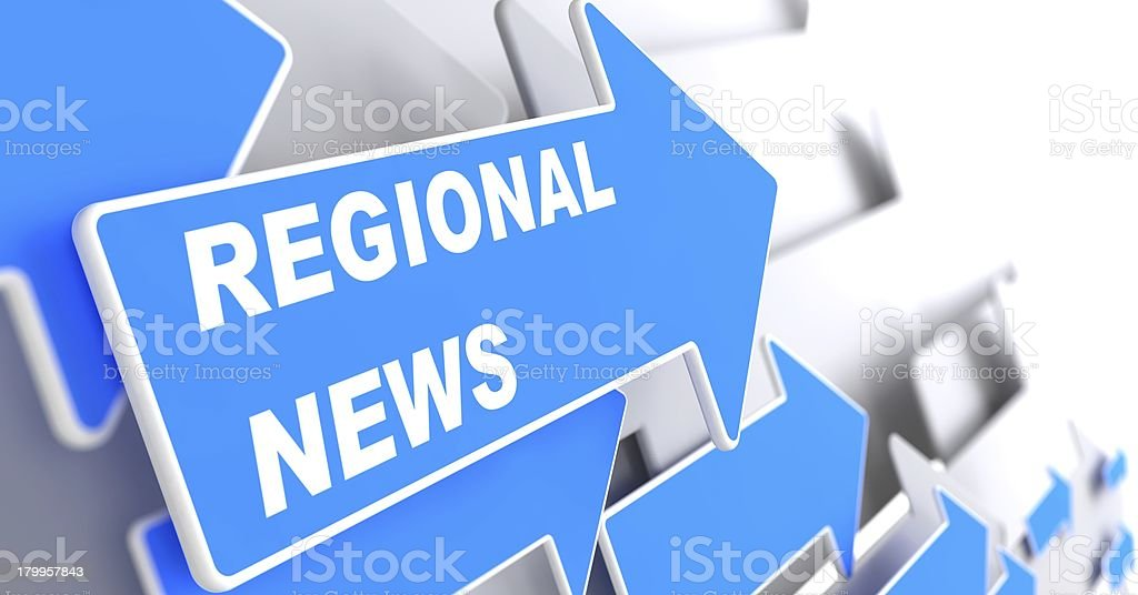 Regional News. Information Concept. royalty-free stock photo
