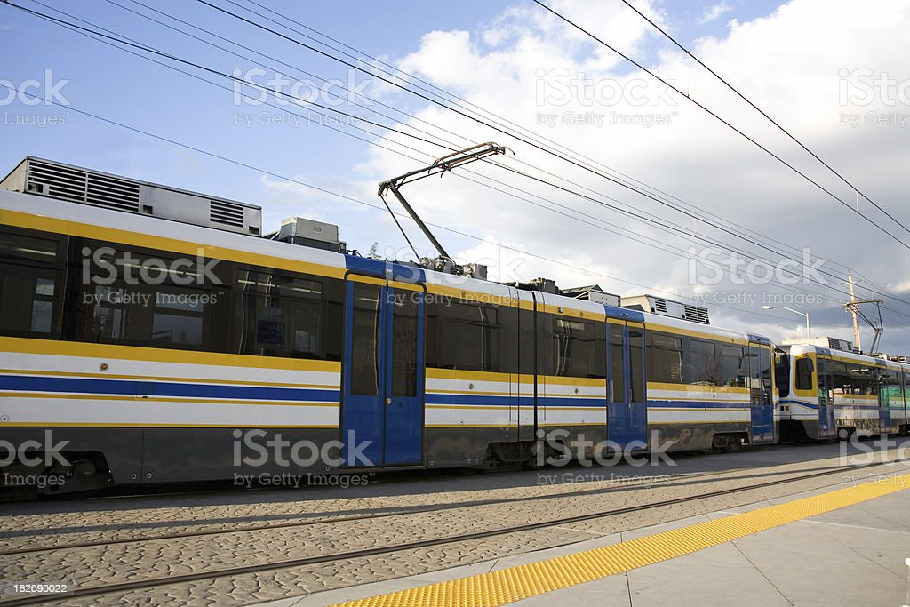 Regional Transit royalty-free stock photo