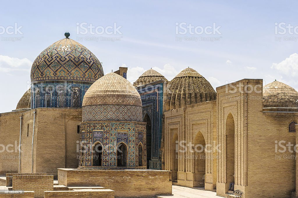 Registan, Samarkand, Uzbekistan stock photo