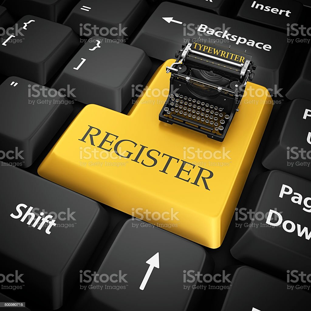 register royalty-free stock photo
