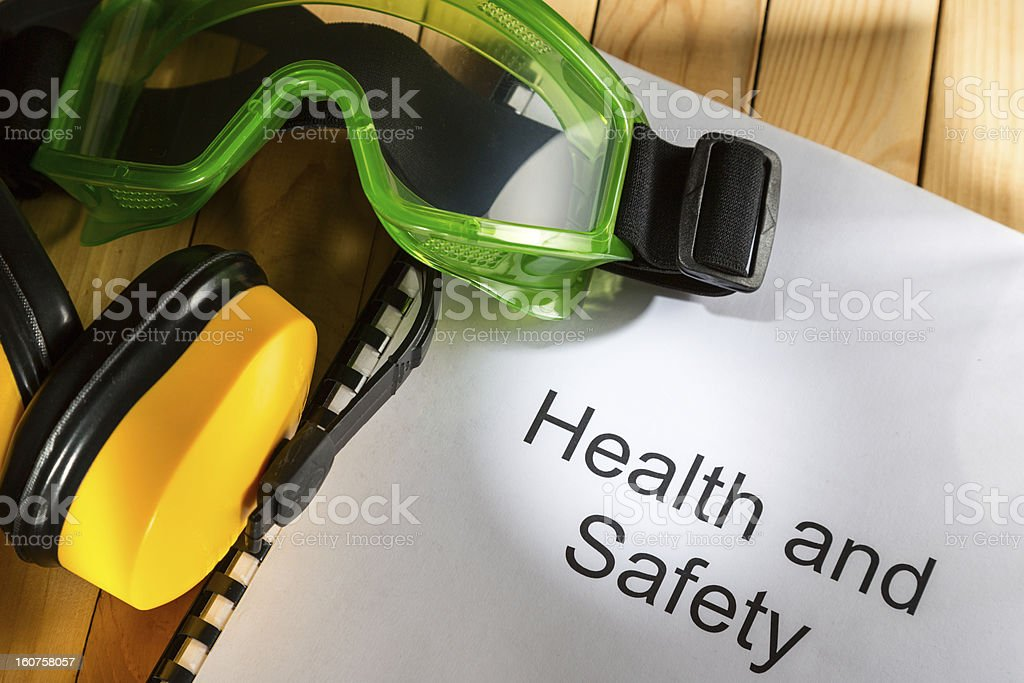 Register with goggles and earphones royalty-free stock photo