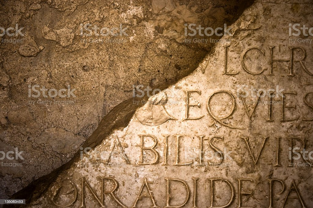 Inscription royalty-free stock photo