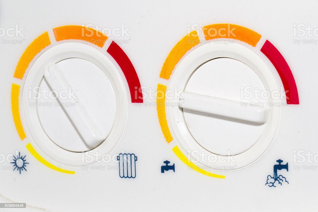 Reguladores de energía stock photo