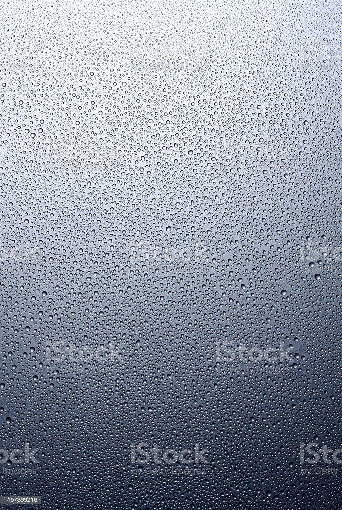 Regular condensation stock photo