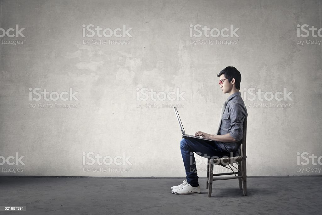 Regular work stock photo