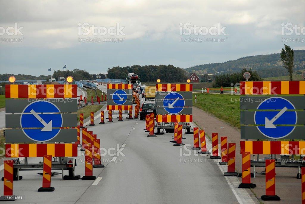 Regulation of Traffic stock photo