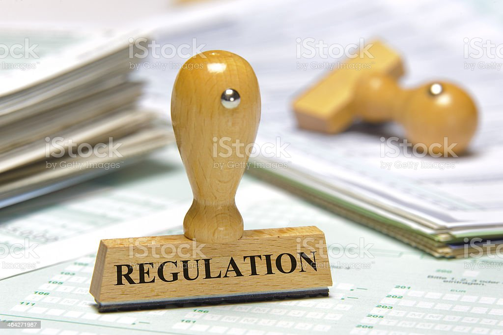 regulation royalty-free stock photo