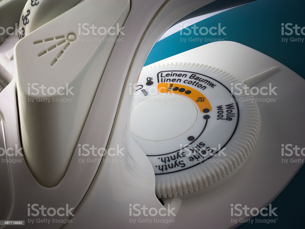 Regulator of the temperature stock photo