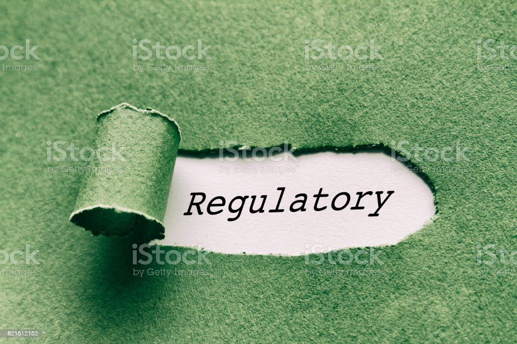 Regulatory stock photo