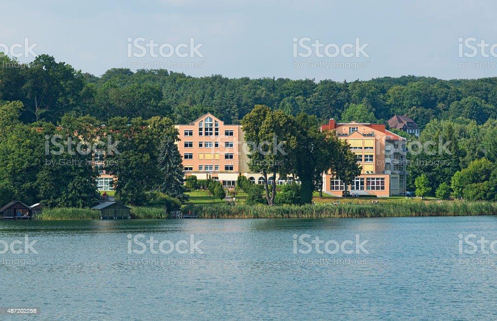 Rehab hospital in Feldberg Seenlandschaft - Mecklenburg, Germany stock photo