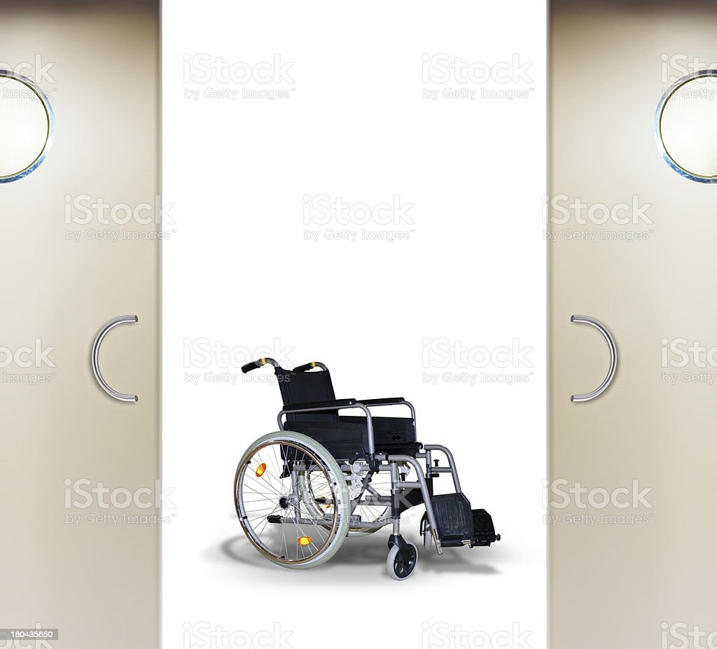rehabilitation in hospital royalty-free stock photo
