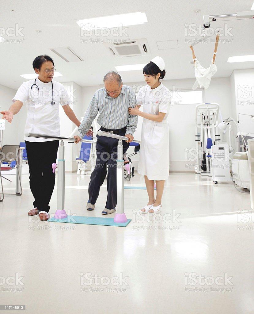 Rehabilitation royalty-free stock photo