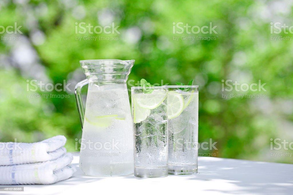 Rehydration stock photo