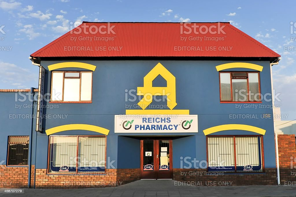 Reichs Pharmacy stock photo