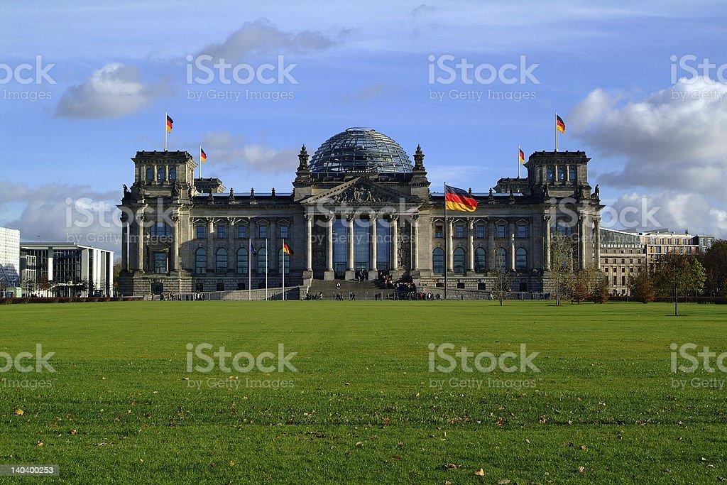 Reichstag Berlin stock photo
