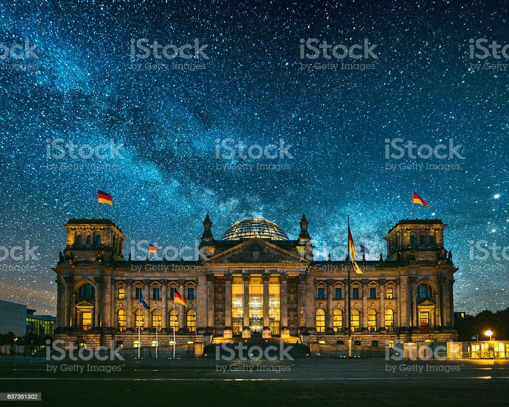 Reichstag, Berlin stock photo