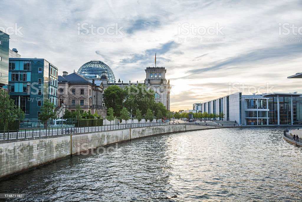 Reichstag in Berlin, Germany royalty-free stock photo