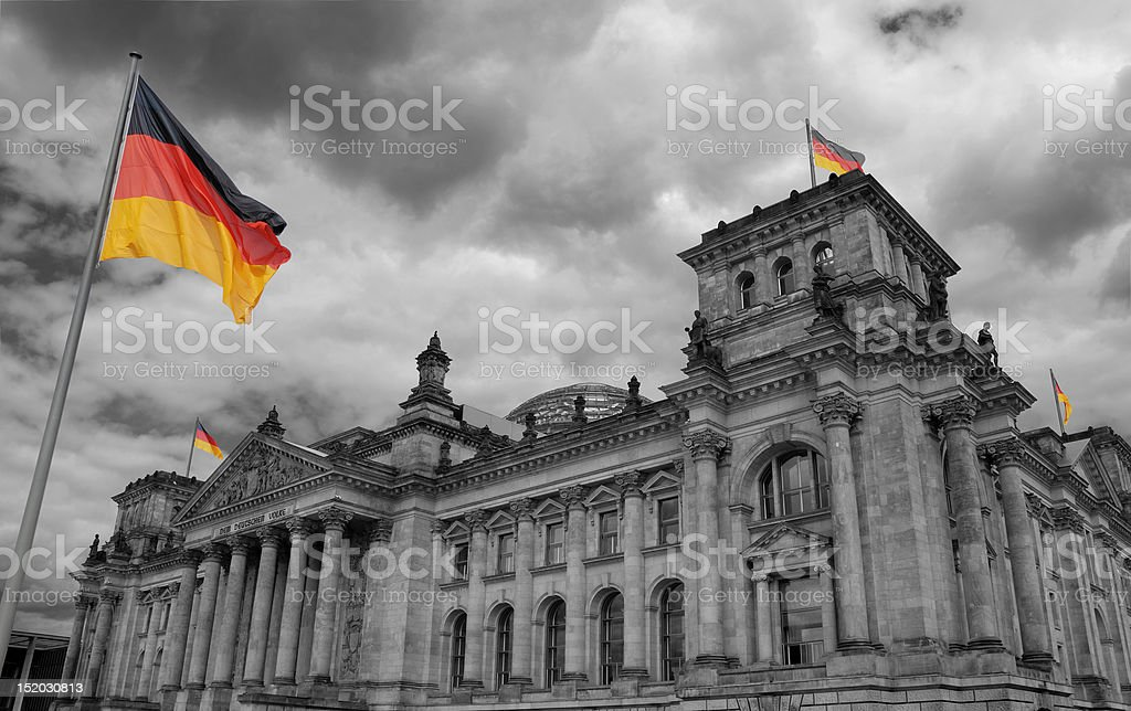 Reichstag. royalty-free stock photo