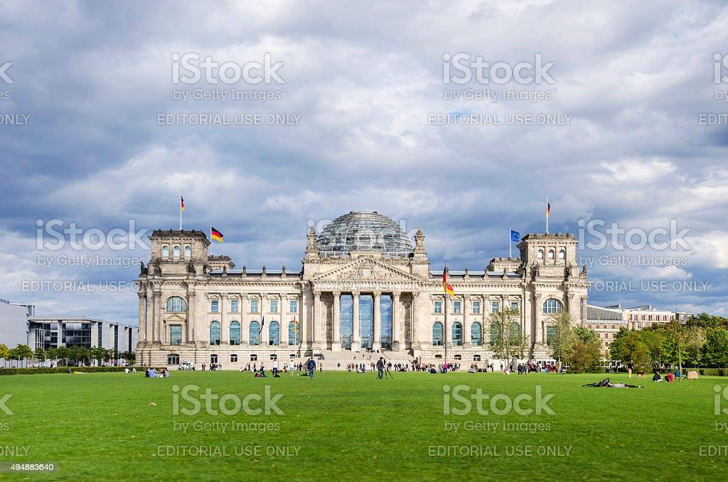 Reichstag stock photo