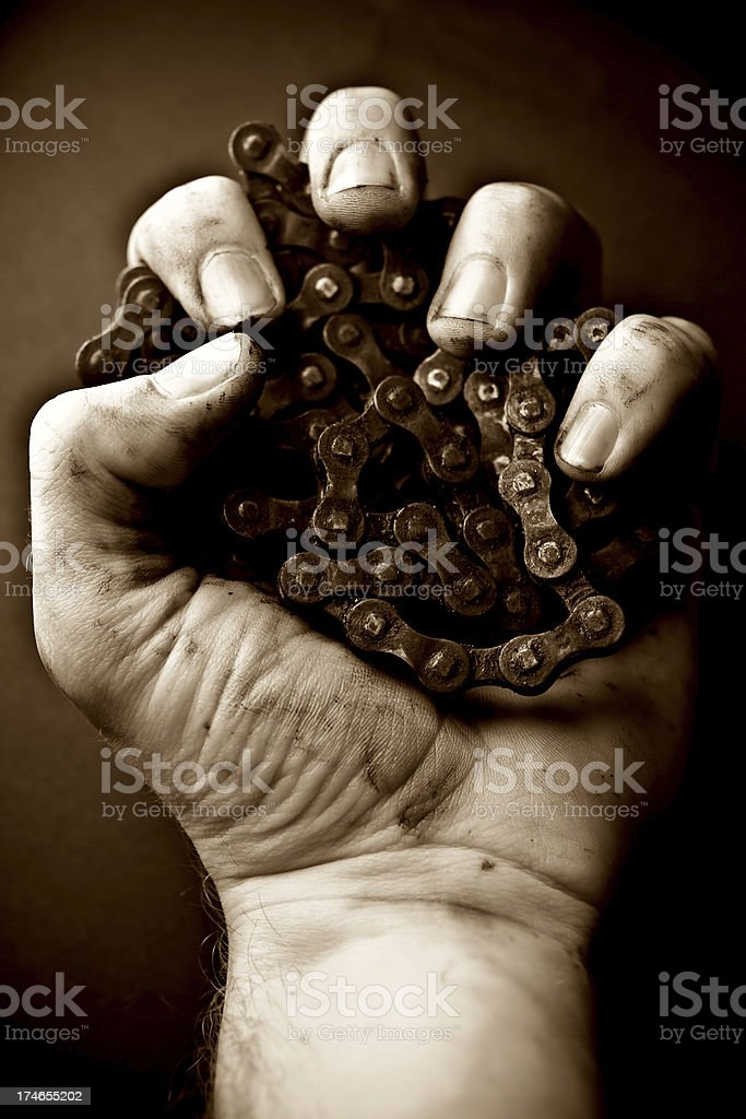 Reign of  Machines royalty-free stock photo