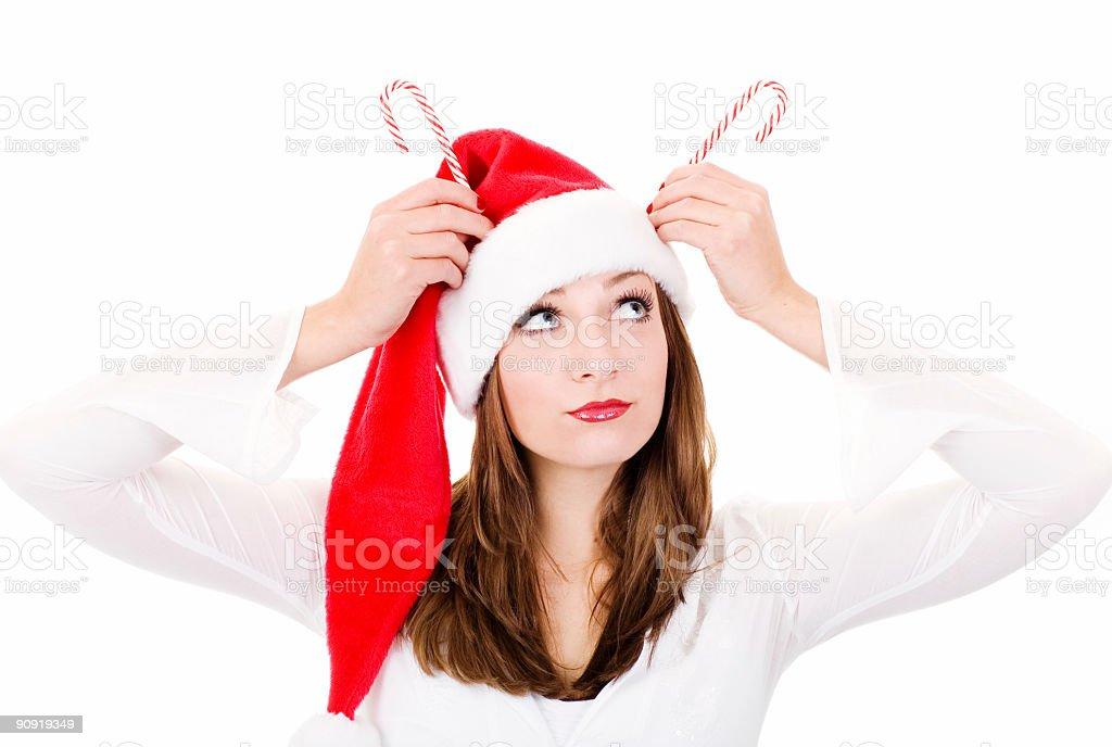 Reindeer Portrait stock photo