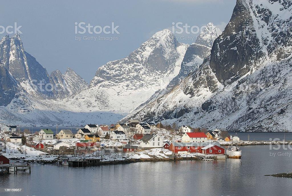 Reine in Lofoten 4 royalty-free stock photo