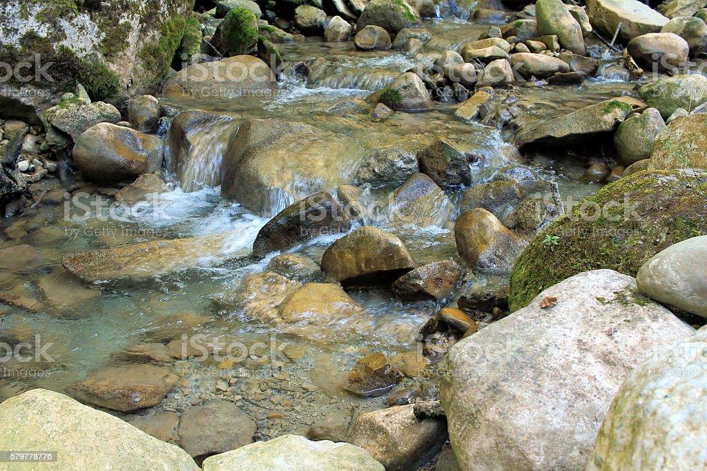 reines Wasser stock photo