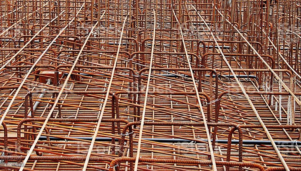 Reinforce (Bridge Construction Materials) stock photo