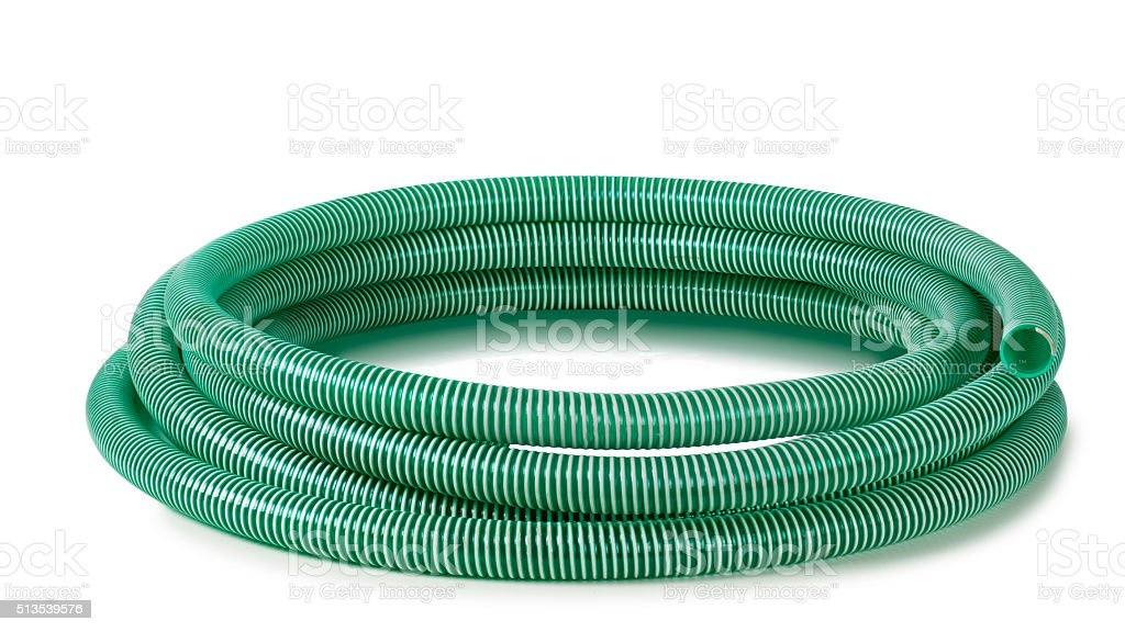 reinforced hose stock photo