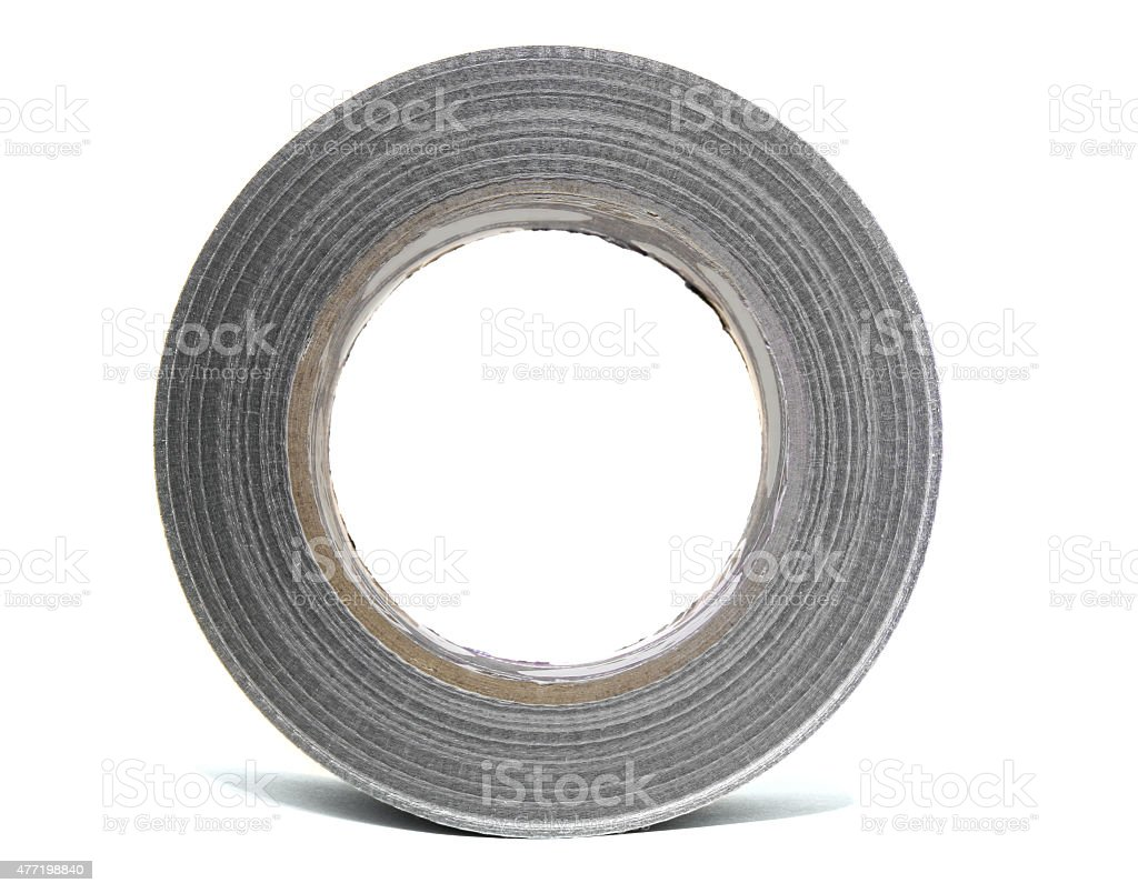 Reinforced tape stock photo
