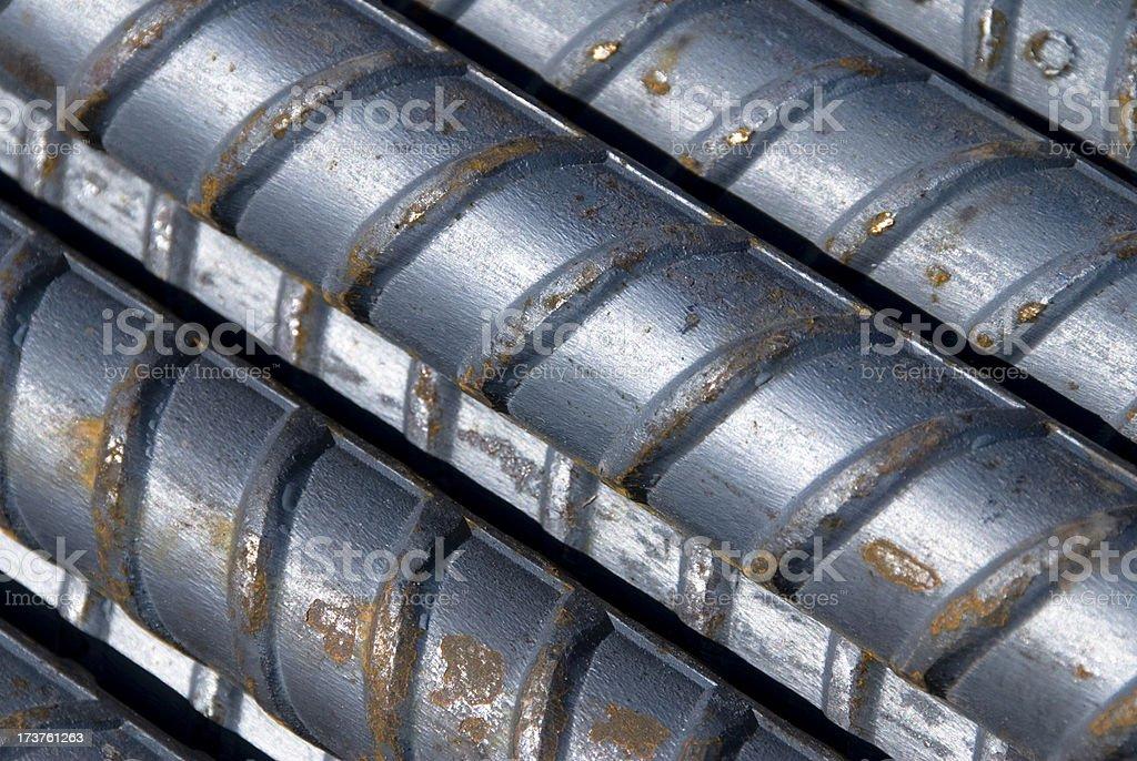 Reinforcement Steel stock photo