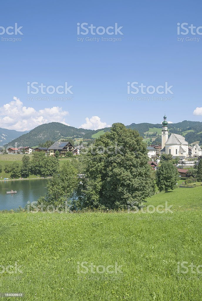 Reith im Alpbachtal,Tirol,Austria royalty-free stock photo