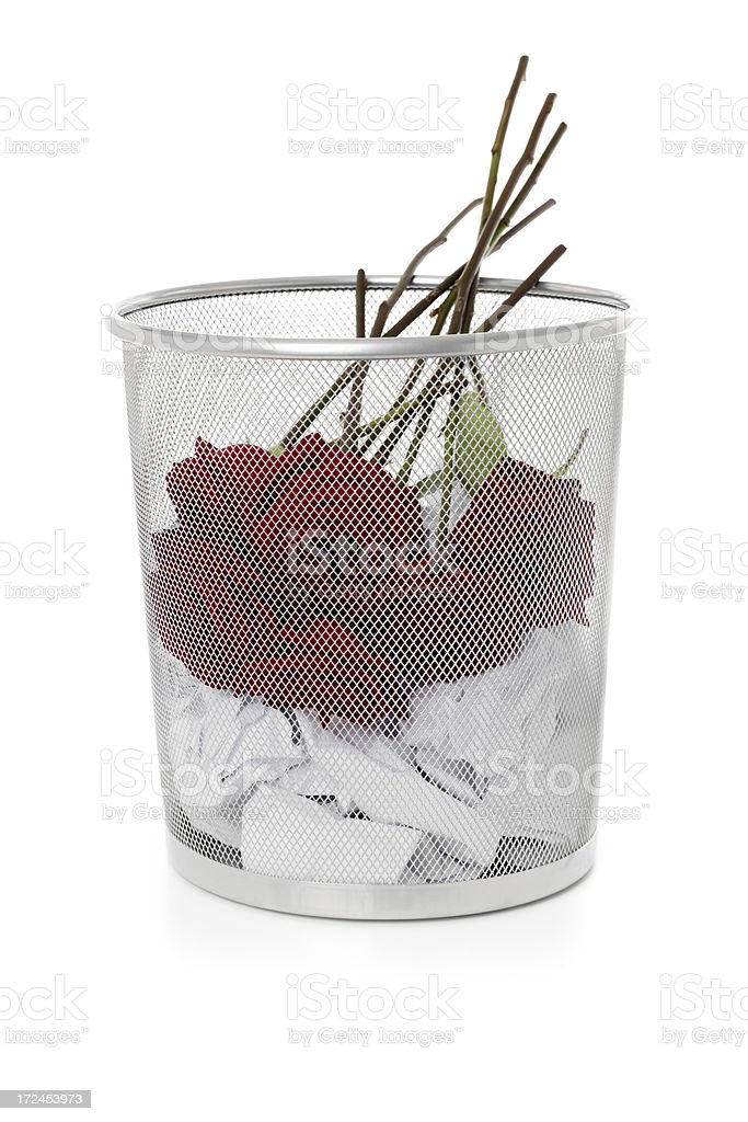 Rejected love royalty-free stock photo