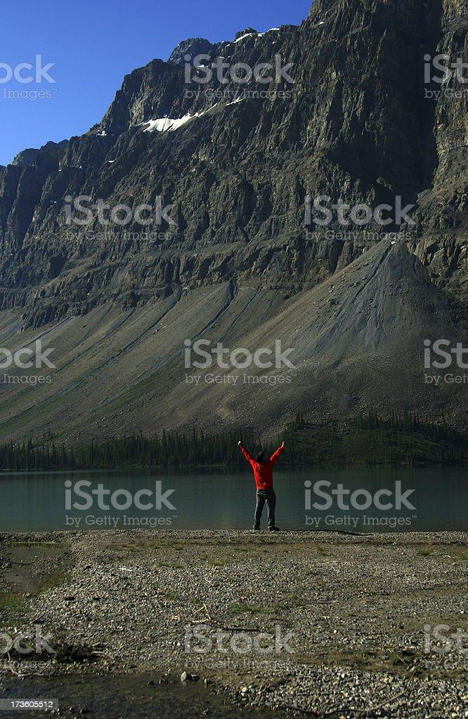 Rejoice royalty-free stock photo