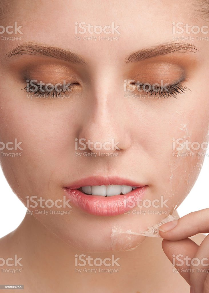 Rejuvenation of skin royalty-free stock photo