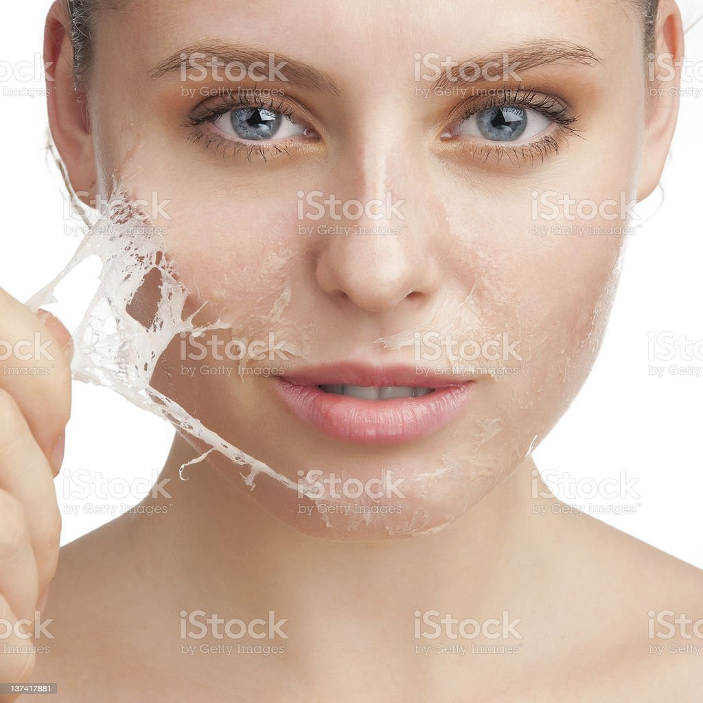 Rejuvenation of skin stock photo